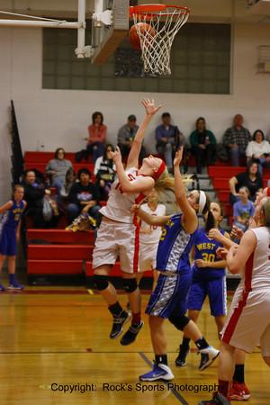 Sheridan vs West Muskingum 8th Grade Girls