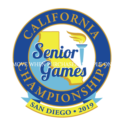 Saturday Action and Crowd Photos 2019 SD Senior Games
