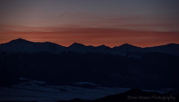Sunset December