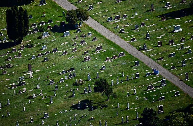 . A graveyard. (Pioneer Press: Ben Garvin)