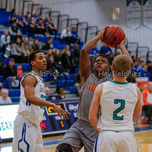 Boys Varsity Basketball vs South Lakes 2/19/16
