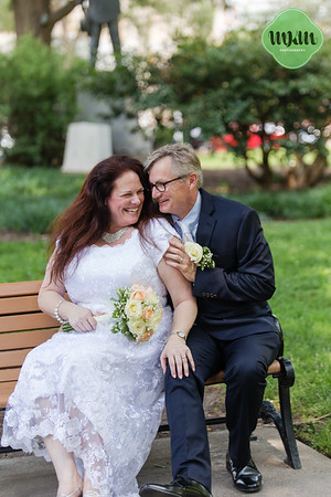 Maureen & Barry | Downtown Raleigh & Nash Square Wedding Portraits