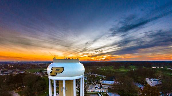 Purdue Water Tower