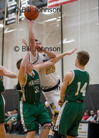Nauset B JV Basketball v Marshfield 1_23_18