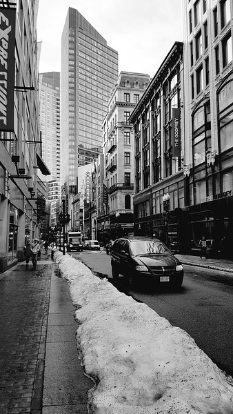 Boston City Street
