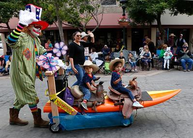 Kiddie Kapers Parade, Salinas - 071518