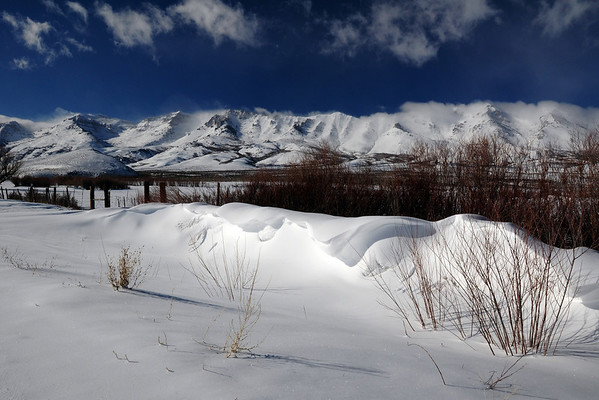 WinterScapes I-Ruby Mtns & Lamoille Canyon