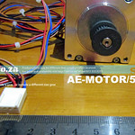 SKU: AE-MOTOR/57/C, 57 Series Stepper Motor Compact Version, Spare for Our V-Series Cutter X Axis Motor