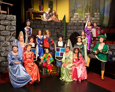 Once Upon a Mattress - Group Photo