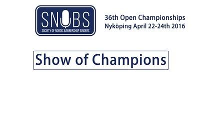2016-0423 SNOBS Show