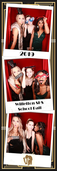 Willetton SHS Ball 2019 Photostrips