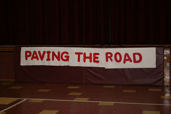 2nd Grade - Paving The Road