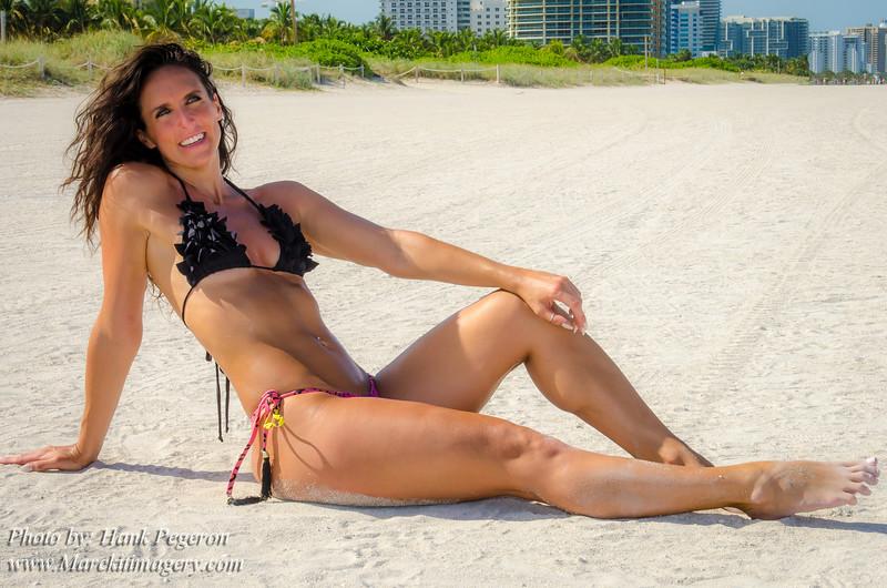 Pamela & Stephanie's Miami Beach shoot