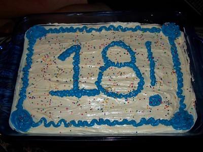 Shannon's 18th Birthday