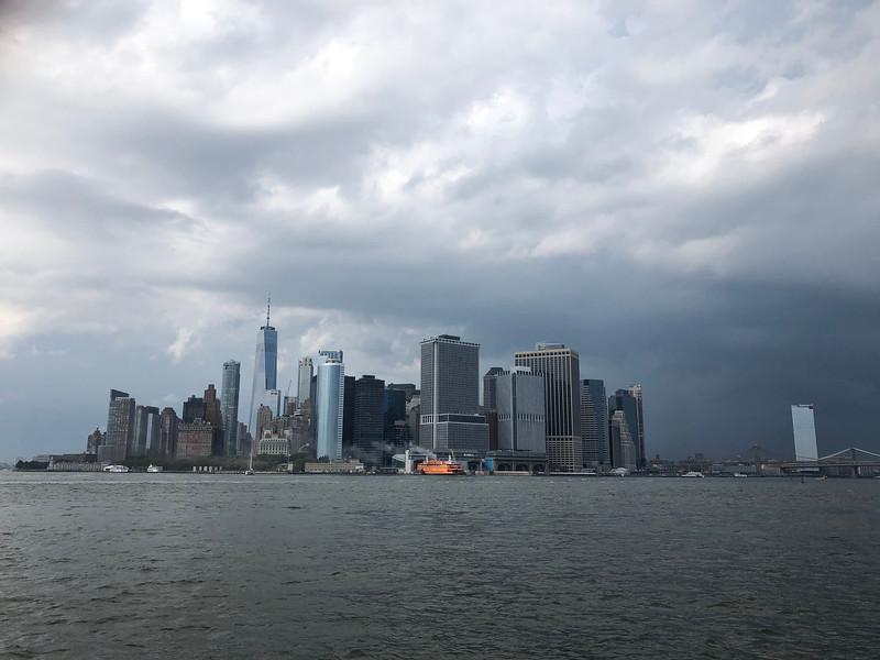 Manhattan seen from the ferry