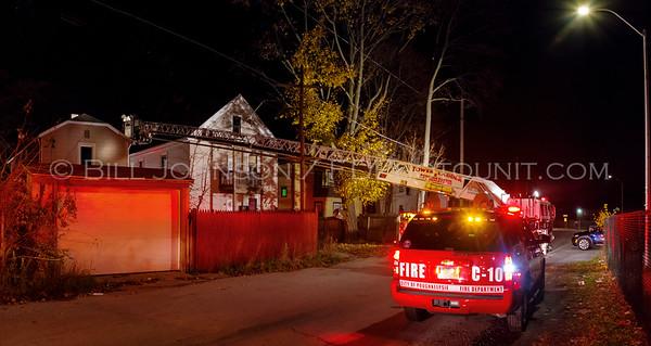 Structure Fire - 16 Lexington Avenue - City of Poughkeepsie FD - 11/17/16