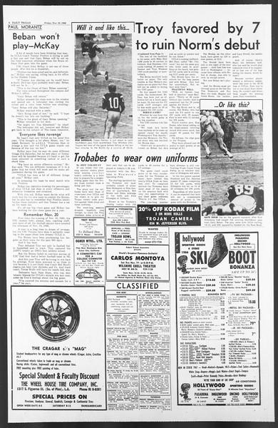 Daily Trojan, Vol. 58, No. 44, November 18, 1966