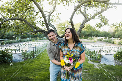 Crystal + Randy: Hartwood Acres Engagement Session