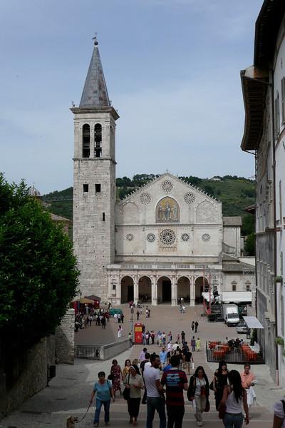 Il duomo. Spoleto, Umbria