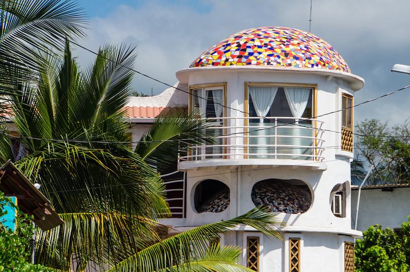 Building in Puerto Ayora