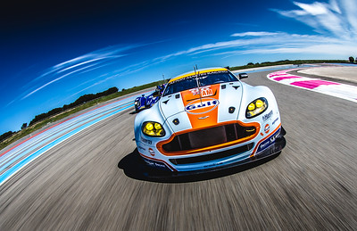 WEC Tracking Shot - Paul Ricard, France Canon EOS 7D / Canon EF 8-15 f4 Fish Eye L Series Lens 1/100th sec f14 Formatt-Hitech 165mm Lucroit Holder / 165 Soft Grad