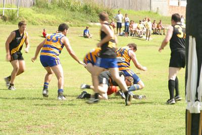 2002 Practise game vs Balmain