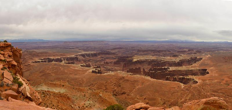 Canyonlands National Park Pano