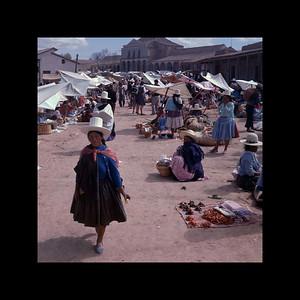 Cliza, Bolivia - Sunday Market 1967