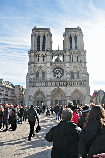 Paris - Viking  - -Sat.,  Nov. 3, 2018 - Notre Dame and surrounding area.