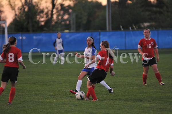 10-08-13 Sports Kenton @ DHS girls soccer
