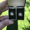 1.65ctw Old European Cut Diamond Dormeuse Earrings 20