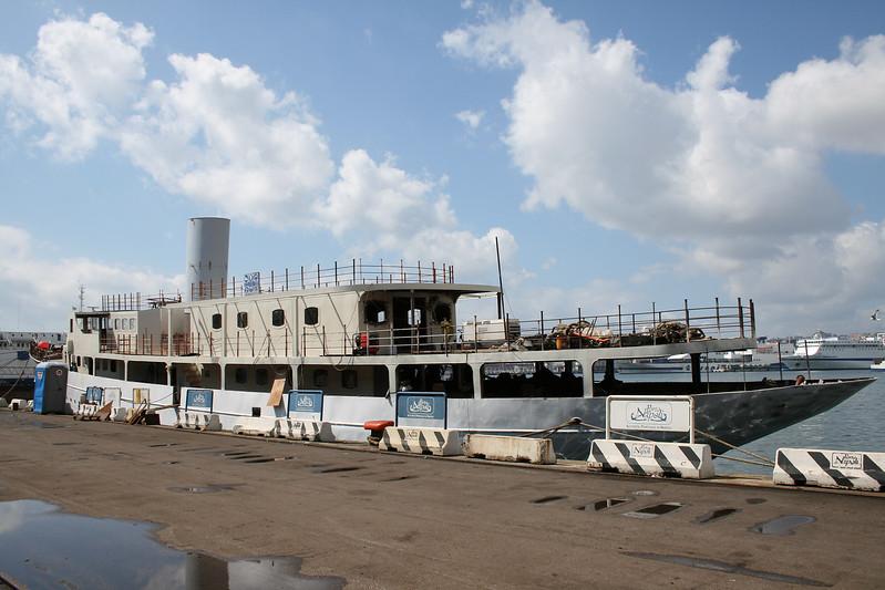 2008 - SANTA MARIA DEL MARE during conversion works in Napoli.