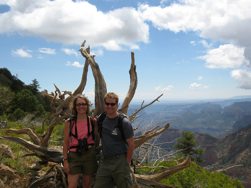 John @ Sarah North Rim Grand Canyon, Arizona