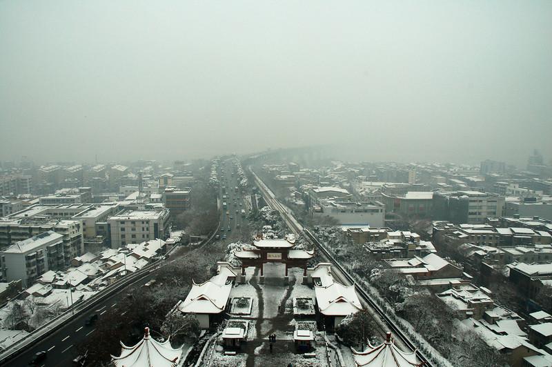 Barely seen Yangtze river