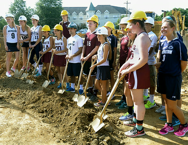 08-18-14 Abington Schools and Penn State Abington break new ground