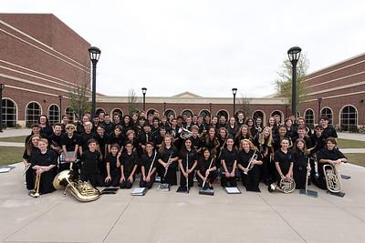 04/11/2017 Symphonic Band at UIL