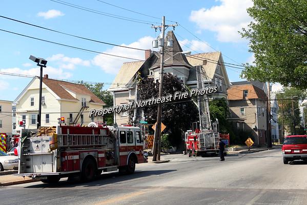 Pawtucket- 2nd Alarm- 260 Lonsdale Avenue-8/26/15