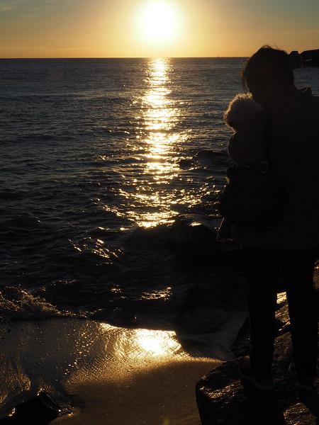 Lori Oscar sunset 2.JPG