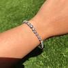 9.50ctw Round Brilliant Diamond Tennis Bracelet 34