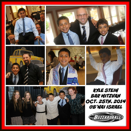OCTOBER 25TH, 2014 |  Kyle Stein Bar Mitzvah