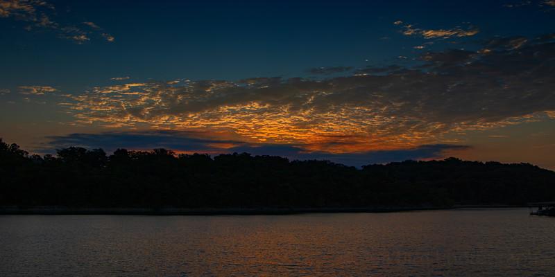 8.15.21 - Prairie Creek Boat Launch this am.
