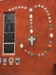 2029-0601 Holy Spirit Church Rosary Wall