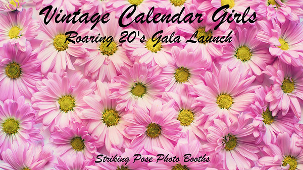 Vintage Calendar Girls Roaring 20's Gala Launch