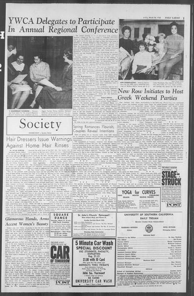 Daily Trojan, Vol. 53, No. 95, March 23, 1962