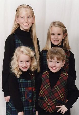 Kirsten, Katrina, Maren, Erik