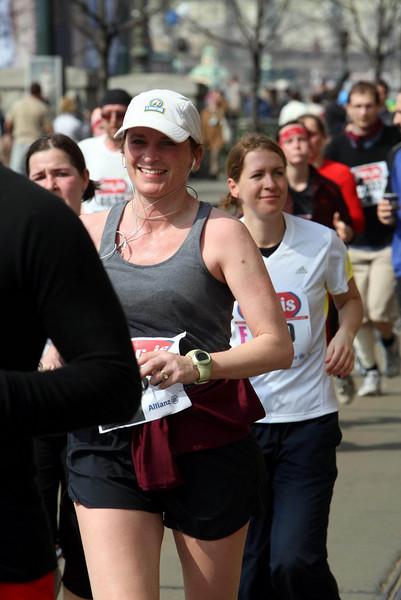 Attache at the finish.