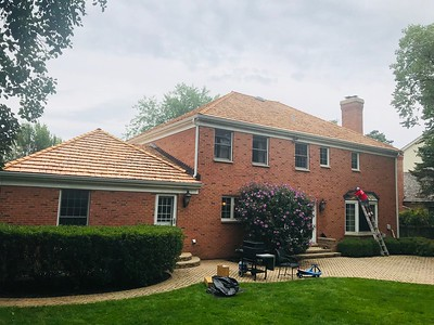Cedar Roofing Aluminum Gutters Glenview IL