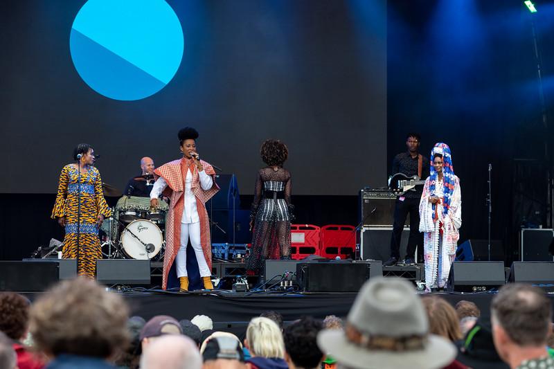 Bluedot Festival, Jodrell Bank Discovery Centre, Macclesfield, Cheshire, UK 19 July 2019