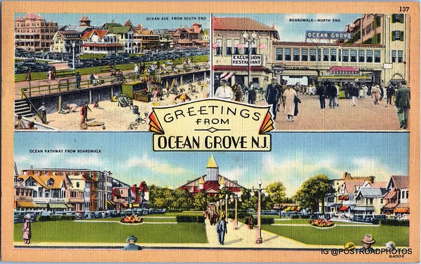 New Jersey Shore Postcard Gallery