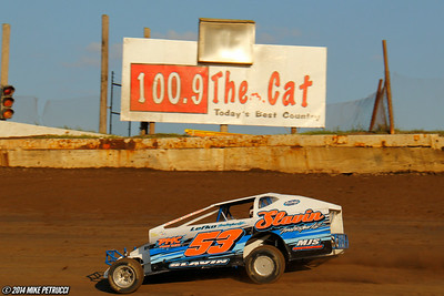 Mr. DIRT Track USA - Lebanon Valley Speedway - Mike Petrucci